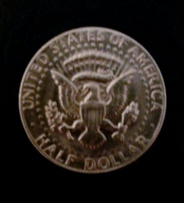 Продаю полдоллара Кеннеди серебро, 1967-68 гг. в Бишкек