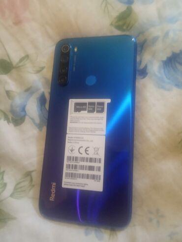 videokamera xiaomi в Азербайджан: Б/у Xiaomi Redmi Note 8 64 ГБ Голубой