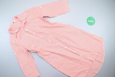 Жіноча сукня-сорочка у смужку, р. L    Довжина: 105 см Ширина плечей