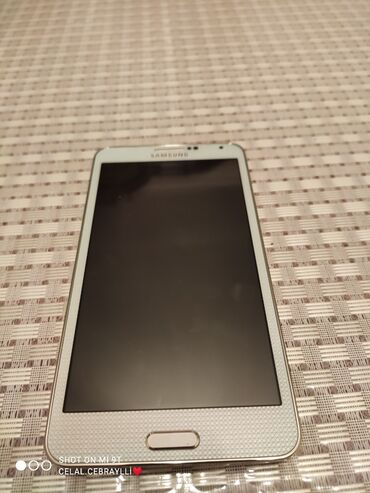 Samsung not3 N900 Tam islek veziyetdedir hec bir problemi yoxdur