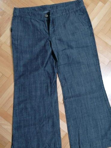 Farmerice-izbeljene-nisu-obim-struka-cm - Srbija: Pantalone br. 44Nisu nošenje, iz EngleskeDužina 100 cm, sirina kod