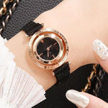 zhenskie chasy tissot original в Кыргызстан: Женские магнитные часы с вращающимся циферблатом  Больше на @chasy.osh