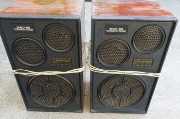 акустические системы xlr колонка банка в Кыргызстан: Продаю колонки Вега 25АС - 109. В чёрном исполнении. В хорошем рабочем