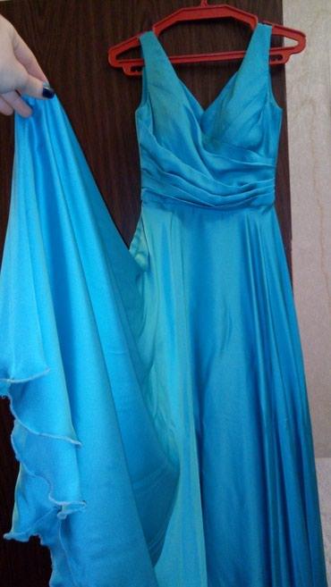 турецкая новая платье в Азербайджан: Платье голубого цвета. Куплено в Турции. Made in Turkey  Размер S