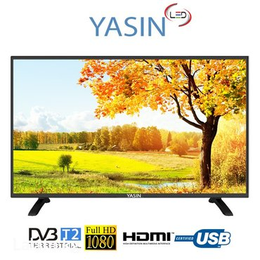 Телевизор yasin led 32e59ts smart (82см) в Бишкек