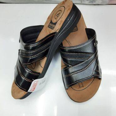 Сандалии и шлепанцы в Кыргызстан: Кожаная и удобная мужская летняя обувь турецкой фирмы Gezer