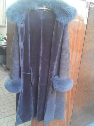 Продается женская дублёнка в хорошем состоянии, размер 3xl в Бишкек