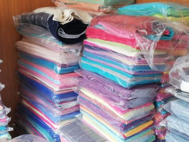 Towel 100% cotton available in stock @600 per kg, very good quality, в Мургаб