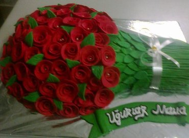Sumqayıt şəhərində Gizilgul tort