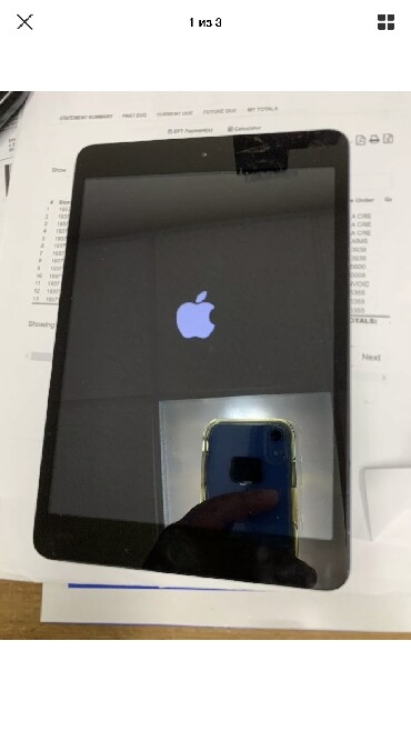 ipad mini a1455 в Кыргызстан: IPad mini 16GB, хорошее состояние, сверху немножко треснуто стекло н