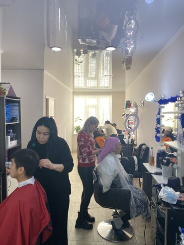 Готовые платки - Кыргызстан: Продаю бизнес раскрученный салон красоты с базой клиентов. Работает 3г