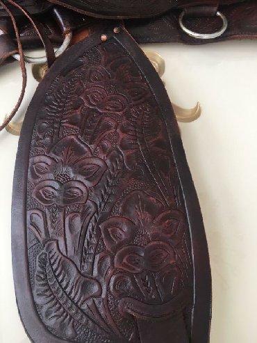 Седло ковбойское ручная работа оригинал из штата