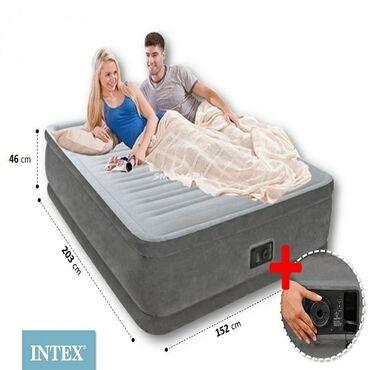 Надувная кровать Intex Comfort-Plush (64414)Характеристики и