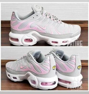 Ženska patike i atletske cipele | Pozarevac: Sivo roze zenske Nike TN ponovo stigle Brojevi od 37 do 41 3300 din. K