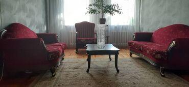 Гарнитуры - Кыргызстан: Два кресла, два дивана, два стулаодин большой журнальный стол и два