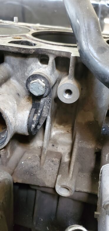 Заглушка двигателя на vw golf 4 1.6л