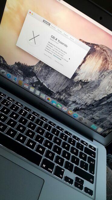 """Noutbuk və netbuklar Azərbaycanda: Mac Macbook Air 13"""" 2014Prosessor: Intel Core i5Yaddaş: 256Gb SSDRam"""