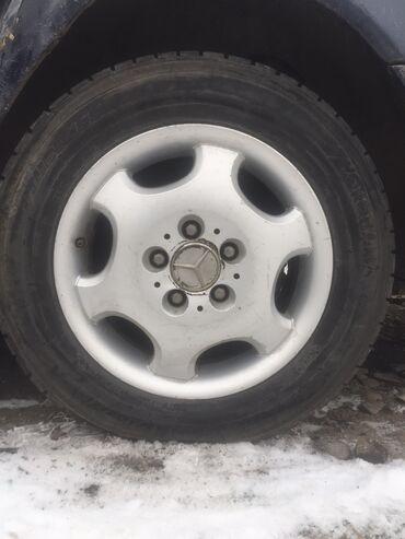 чистые диски оптом в Кыргызстан: Продам диск мерса с зимнимы покрышками размер 15