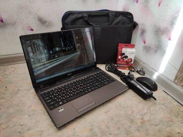 Компьютеры, ноутбуки и планшеты - Бишкек: Шустрый и удобный,ноутбуксостояние идеальное.4х ядерный процессор