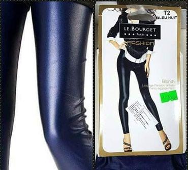 Italijanske helanke pantalone LA BOURGET vel 2 ili nase M/L..boja: - Trstenik