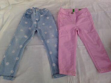 Dečija odeća i obuća - Vladicin Han: Farmerice za devojčice Cena po komadu 300 din.Ili obe za 500Roze su