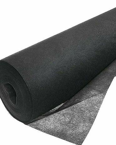 Агроволокно 60 г/м2. (чёрное). Мульчирующий материал. Он стелется не