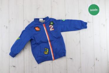Верхняя одежда - Синий - Киев: Дитяча куртка F&F, вік: 12-18 м., зріст: 86 см, вага: 12,5 кг    Д