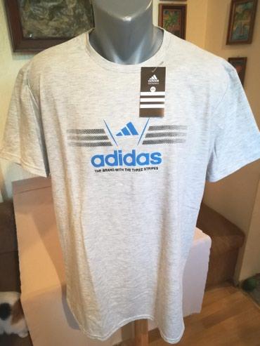 Majica muska adidas - Srbija: Nova muska majica Adidas. Turska. Vrlo dobra muska majica za muskarce
