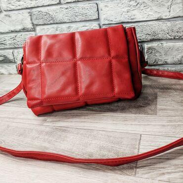сумка жен в Кыргызстан: Женская сумка высота 16см ширина 25см объем 10см внутри два отдельных