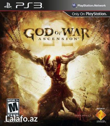 """Bakı şəhərində Rus dilində """"God of War: Ascension""""  PS3 oyunu"""