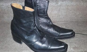Muske kozne kaubojke, obuvene jednom ,kupljene u Italiji, br 42 u - Kraljevo