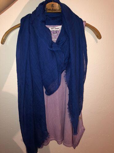 Ostalo - Tutin: Plava Esarpa Zara očuvana nošena dva tri puta