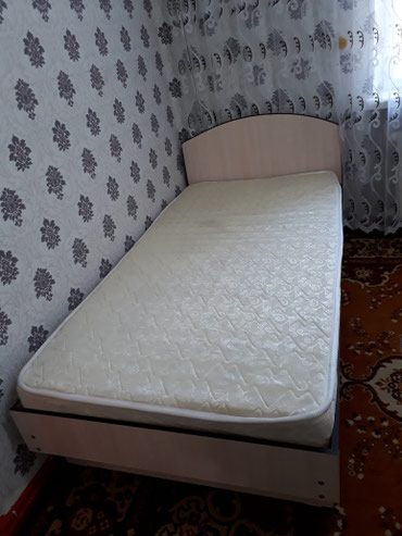 В связи с выездом продаю кровать,  полуторка.  в Кара-Балта