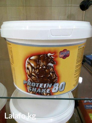 ПРОТЕИН шейк 80 белок являится основным строительным материалом органи в Бишкек