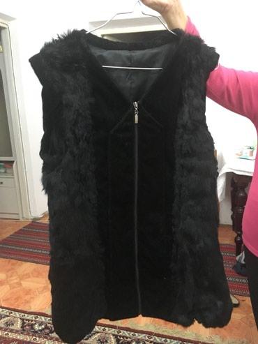 Безрукавка-жилетка кроличья 44-46 размер 1200 с в Бишкек