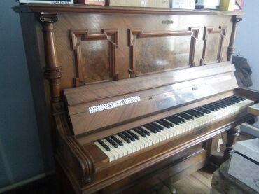 гибкое пианино в Кыргызстан: Продаю немецкое пианино без настройки ( антиквариат)