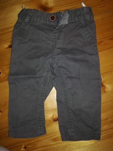 C&A Sive pantalone za bebe, veličina 62, par puta nošene, očuvane