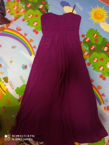 бу вечернее платье размер 46 в Кыргызстан: Вечернее платье . бюст с ребрами . будет хорошо держать грудь