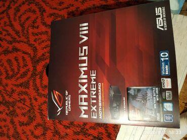 socket 1155 материнская плата в Кыргызстан: Продаю комплект материнку от Asus Maximus VIII EXTREME + Pentium G4560