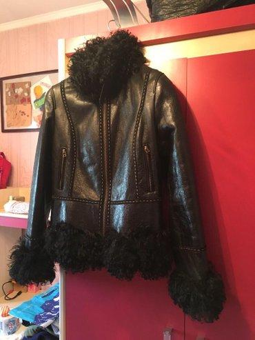 Женская куртка-дубленка 46-й размер, в Бишкек