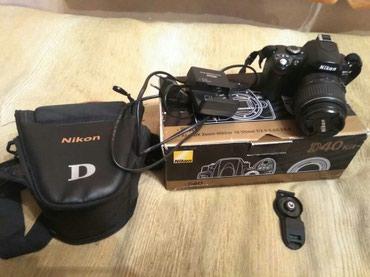 Фотоаппарат зеркалка nikon D40AF-S DX Zoom-Nikkor 18-55mm f/3.5-5.6 G
