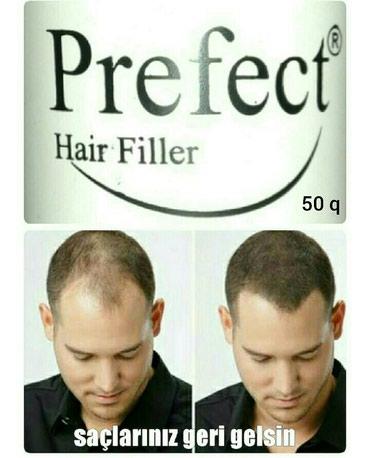 Bakı şəhərində PREFECT saç tozu. Çox ekanomiq 50 qramlıq qablaşmada. Miqdarı 2