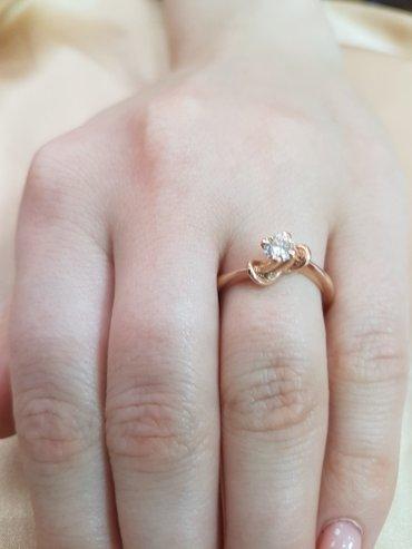 Кольцо из красного золота 585 проба. в Бишкек