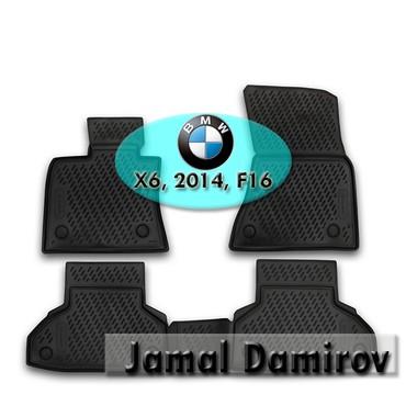 """bmw-x6-xdrive30d-steptronic - Azərbaycan: BMW X6 2014 F16 ucun poliuretan ayaqaltilar.""""AILERON"""", """"NOVLINE"""""""