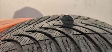шины 205 55 r16 зима в Кыргызстан: Продаю комплект зимней резины в хорошем состоянии без шишек, протектор