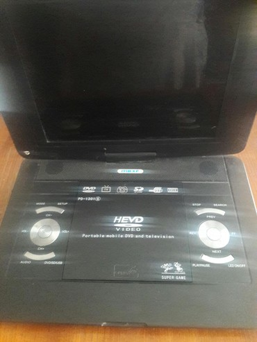 toshiba-dvd-player в Кыргызстан: DVD с экраном. Работает, но нужно сделать блок питание