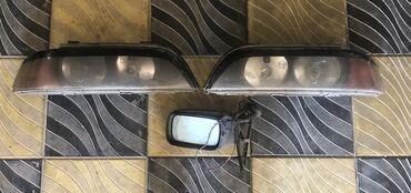 bmw e39 fara - Azərbaycan: BMW E39 kuza üçün qabaq fara ve sağ yan güzgü Hamısı biryerde 50azn