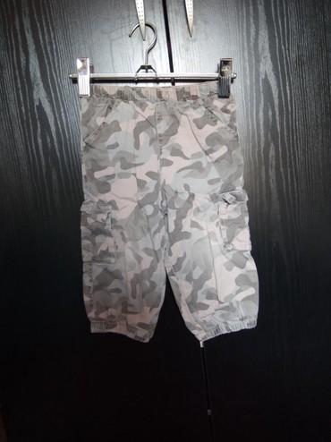 Maskirne pantalone - Srbija: Maskirne pantalone bez oštećenja za uzrast do 3 godine