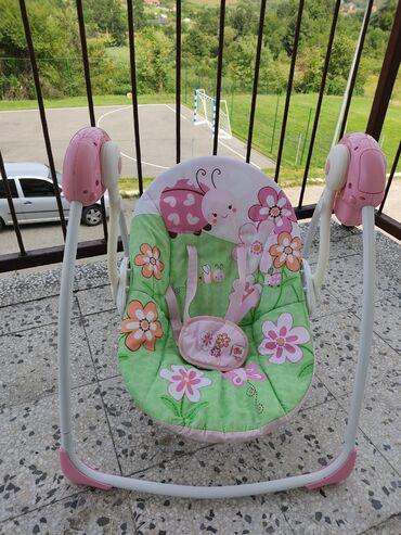 Ljuljaska za bebe - Srbija: 6 Brzina Bright Starts Ljuljaška za bebe Meadow Blossoms SKU60009  Lju