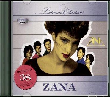 Zana dupli cd 38 hitova platinum nov neraspakovan - Belgrade
